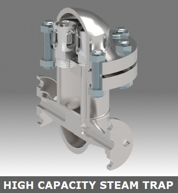 High Capacity Steam Traps