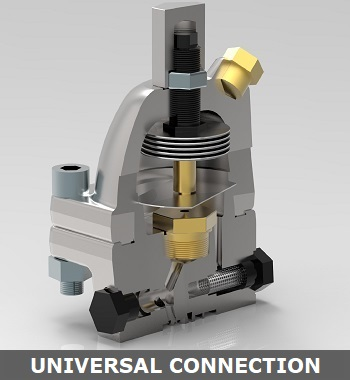 Steam Trap Universal Connector
